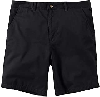 Club Room Mens Twill Double Pleat Casual Shorts Black 33
