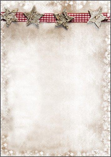 SIGEL DP052 Briefpapier Weihnachten, Winter Chalet, A4, 25 Blatt
