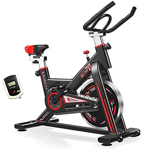 Ergometer - Mit Computer Display, Ergometer, Max 150 Kg, Sitz Und Griff Verstellbar - Fitnessbike Speedbike Mit Flüsterleise Riemenantrieb-Fahrrad Ergometer