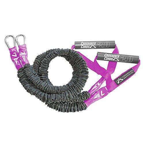 Crossover Symmetry Leichte 7 lbs Schulterwiderstands- / Übungsbänder - zum Aufwärmen, Armtraining, Schulterübungen oder körperliche Rehabilitation nach Verletzungen - EIN Satz von 2 Crossover Bändern
