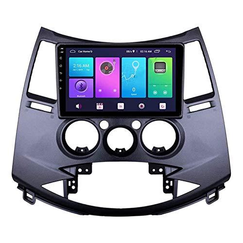 YLCCC Coche Estéreo Navegador Resistivo Digital FM Am Radio Receptor Player Multimedia con Llame de Llame a Bluetooth Mirror Llame a Mitsubishi Grandis 2003-2011,8 Core 4g+WiFi: 2+32gb