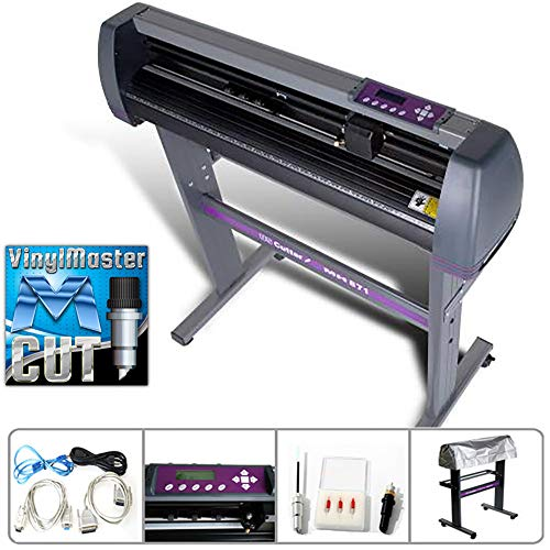 MH Series USCutter 34-inch Vinyl Cutter Plotter with Stand and VinylMaster - New Design and Cut Software