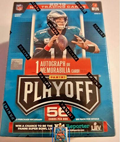 2019 Panini Playoff NFL Football Trading Cards Blaster Box