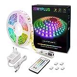 MYPLUS LED Streifen, RGB Led Str...