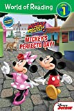 World of Reading Mickey and the Roadster Racers Mickey's Perfecto Day (Level 1 Reader): with stickers