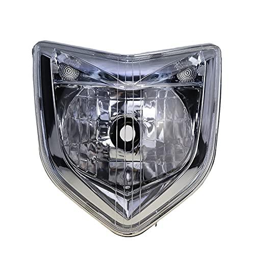 para 06 07 08 FZ1 2006 2007 2009 Accesorios para Motocicletas Cabeza de Faro Lámpara de luz Lámpara de luz Caja de alojamiento Kit de ensamblaje (Color : A)
