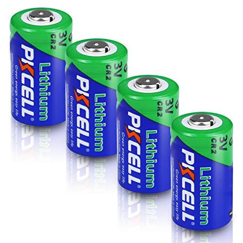 カメラ用 CR2 3vリチウム電池 4個[CR15270交換]