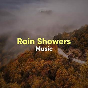 """ Peaceful Rain Showers & Thunder Music """