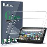 Ferilinso [2 Pack] Schutzfolie für All-New Fire HD 8/Fire HD 8 Plus/Fire HD 8 Kids Tablet 8-inch 2020 Released Panzerglas, hochauflösendes gehärtetes 9H-Härteglas