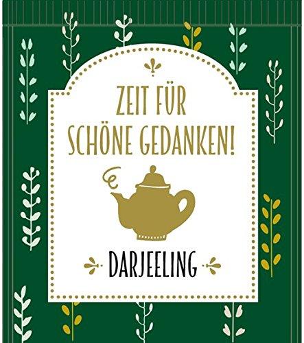 Tee-Schachtel - Zeit für schöne Gedanken!: Kleine Teestunden für dich