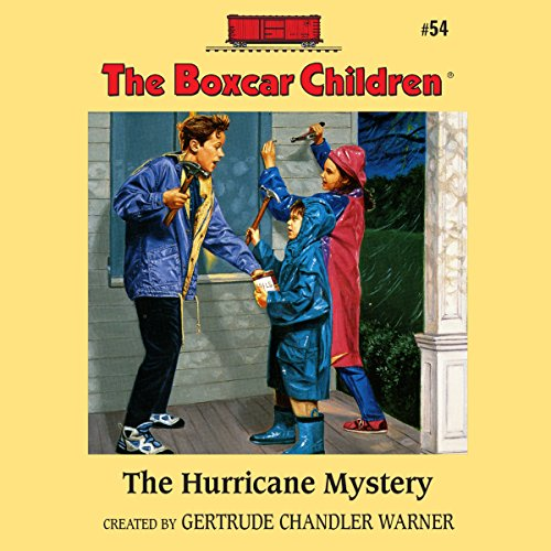 The Hurricane Mystery audiobook cover art