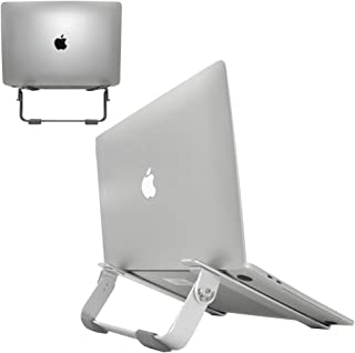 Adjustable Laptop Stands, Reayouth Aluminum Laptop Riser Notebook Holder for MacBook Air/Pro,Dell,HP,Samsung,Lenovo Up to ...