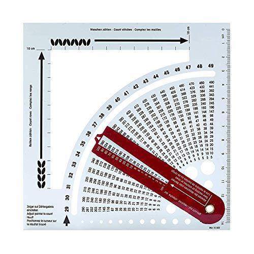Calculadora de puntada para tejer y conteo de marcos, herramientas de tejer para suéteres, manualidades y suéter, regalo para entusiastas de bricolaje, esposa, madre