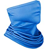 Achiou Neck Gaiter Face Scarf Mask-Dust, Sun Protection Cool Lightweight Windproof