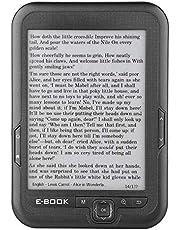 6-calowy czytnik e-booków, ekran E-Ink o rozdzielczości 800 * 600 Przeciwodblaskowy z kablem USB Pokrywa PU Obsługa czytnika e-booków Karta TF (16G i szara)