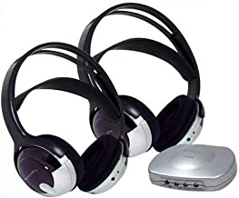Unisar TV Listener J3 Infrared Stereo System with Additional Headsets