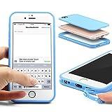 Urcover Custodia Full Body Apple iPhone 6 / 6s | Touch Cover Integrale Fronte Retro Transparente | Back...