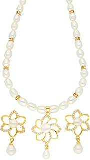 Modesty Pearl Necklace