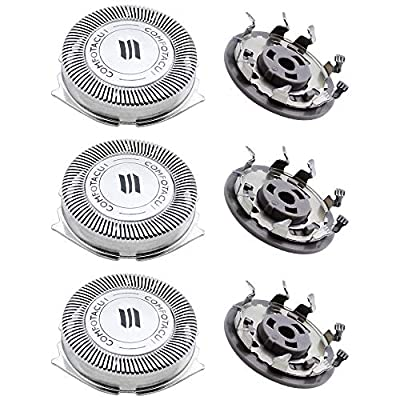 NewZC 3pcs SH50 Replacement Shaver Head for Philips Series 5000 from NewZC