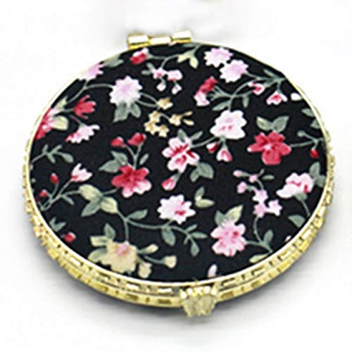 1 Piece Mini Makeup Compact Pocket Mirror BK1