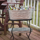 Tablecraft Brickhouse Beverage Tub Set & Reviews | Wayfair