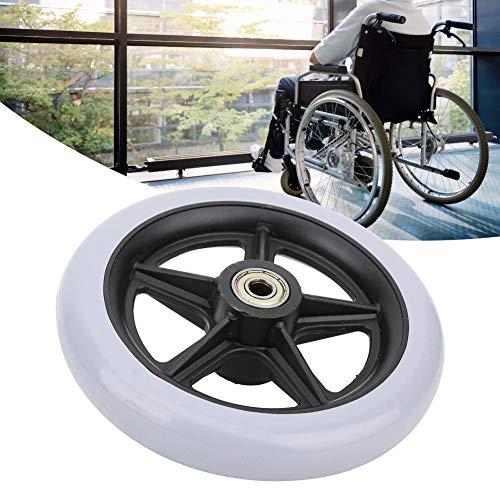 6 inch rolstoelwielen, rolstoel voorwielen, antislip rolstoelwiel, gehandicapte ouderen rolstoel antislip rubberen wielen