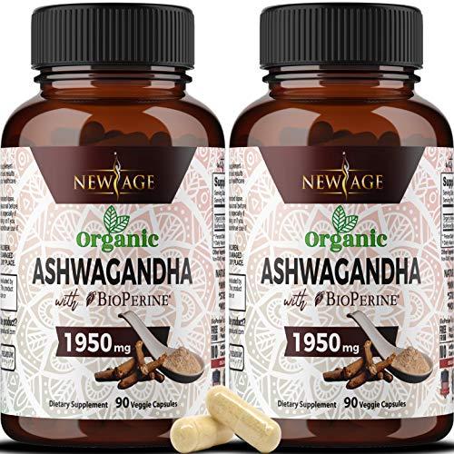 Organic Ashwagandha 1950mg by New Age review