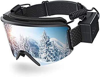 Sable Heated Ski Goggles with Heated Graphene Anti-Fog Lens