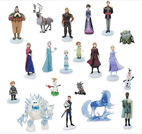 Disney Store, Frozen and Frozen 2 Mega Figuras Set - Incluye