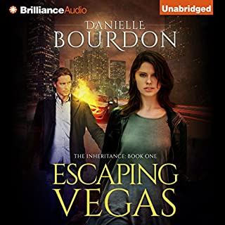 Escaping Vegas     The Inheritance, Book 1              By:                                                                                                                                 Danielle Bourdon                               Narrated by:                                                                                                                                 Amy Rubinate                      Length: 7 hrs and 18 mins     7 ratings     Overall 3.6