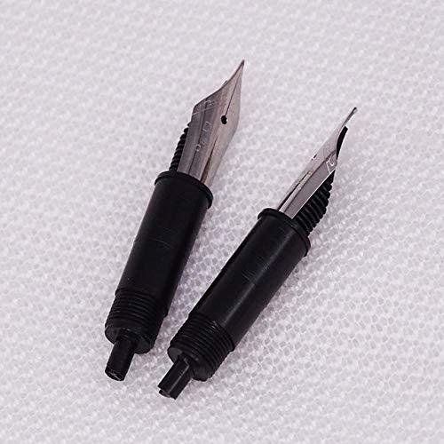 New Moonman Kreativer Füllfederhalter & Glas-Dip-Pen Bunter, zweifach verwendbarer EF/F/kleiner, gebogener Schreibfeder-Ink Pen & Box-Geschenkset