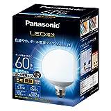 パナソニック LED電球 口金直径26mm 電球60形相当 昼光色相当(5.8W) 一般電球・ボール電球タイプ 95mm径 屋外器具対応 LDG6DG95W