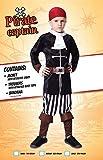 Piraten Kostüm Jungen Kapitän Pirat Piratenjunge Jungenkostüm Gr. L / 9 - 12 Jahre