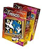 Fantazer 407009E Fresco The Set Ghosts, Multicolor, Talla única