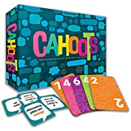Gamewright Cahoots – The Cooperative Hint & Sync Card Game, Multi-Colored,