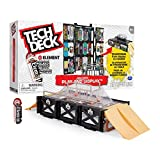 TECH DECK, Play and Display Transforming Ramp Set and Carrying Case with Exclusive Fingerboard, Kids Toy for Ages 6 and up