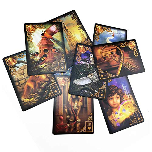 Finelyty Card Gilded Reverie Lenormand: Expanded Edition Taschenbuch 47St