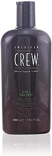 American Crew 3-in-1 Tea Tree Shampoo, Conditioner & Body Wash - 450ml