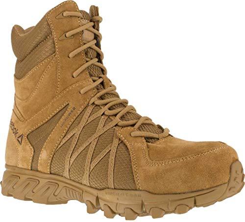 Reebok Trabajar para hombre Trailgrip Tactical 8 pulgadas zapatos casuales de trabajo y seguridad,, (Coyote), 41 EU