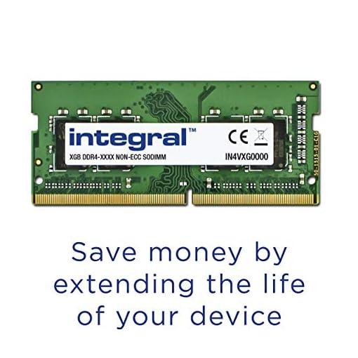 Integral Memory - Memoria DDR4 de 8 GB, SODIMM 2666 MHz, PC4-21300, 260 Pines, Kit de Memoria para Ordenador portátil 2