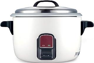DYXYH Cocina eléctrica: cocina de arroz, que se cocina con vapor, cocina eléctrica multifuncional for saltear sopa de arroz con olla de aluminio apta for lavavajillas