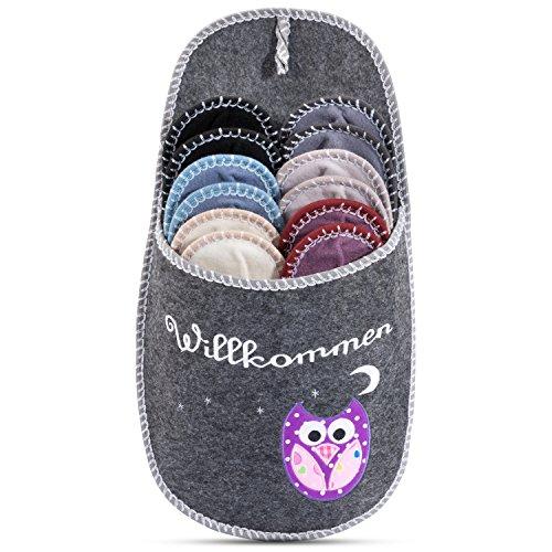 6 pares de zapatillas de estar por casa/Pantuflas (Slippers) - Colores variados