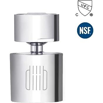 Diiib 360 Degree Dual Functional High Pressure Kitchen Faucet Aerator Sink Faucet Aerator Head Amazon Com