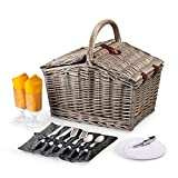 Picnic Time Piccadilly Picnic Basket For Two, Anthology Collection