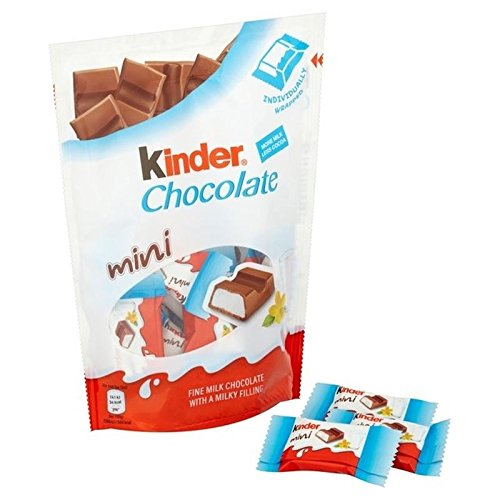 Kinder Cioccolato Sacchetto Minis 108G (Confezione Da 2)