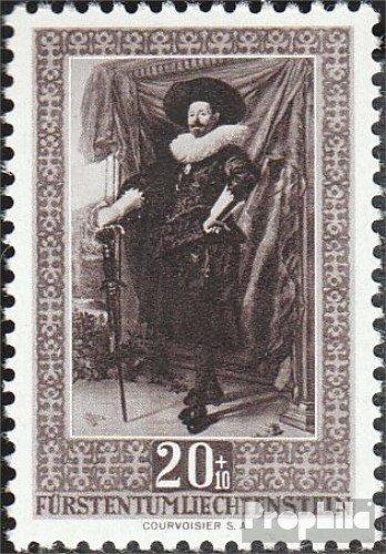 Prophila Collection Liechtenstein 302 1951 Werke holländischer Meister (Briefmarken für Sammler) Malerei