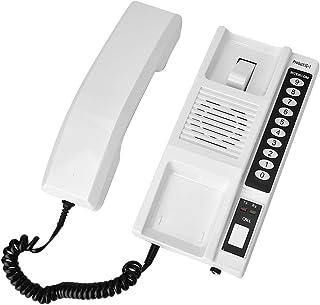 433Mhz Universal Door Phone, Wireless Intercom System Secure Interphone Headphones, Extendable for Warehouse Office