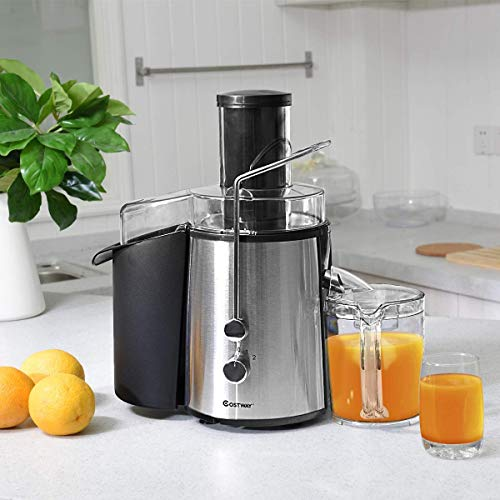 High Efficiency, Time-Saving and Energy-Saving, The Best Choice For Body Detoxification, 2 Speed Electric Wide Mouth Centrifugal Juice Extractor