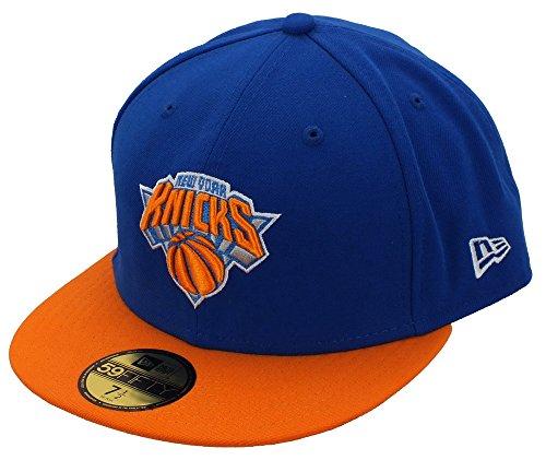 New Era York Knicks 59fifty Basecap NBA Basic Royal/Orange - 7-56cm