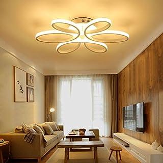 HOUDES Modern Led Chandelier Lighting Ceiling Light Fixture Hanging Lamp  For Living Room Bedroom Dining Room